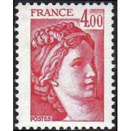 France Yvert Num 2122 ** Sabine 4f00 1981