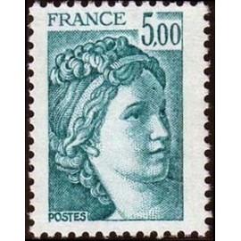 France Yvert Num 2123 ** Sabine 5f00 1981