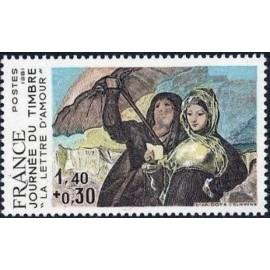 France Yvert Num 2124 ** Goya JDT  1981