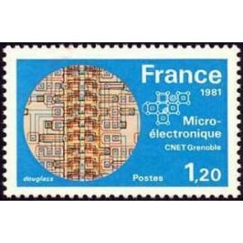 France Yvert Num 2126 ** micro  1981