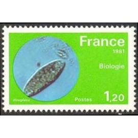France Yvert Num 2127 ** Biologie  1981