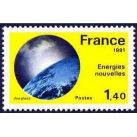 France Yvert Num 2128 ** Energie nouvelle  1981