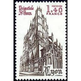 France Yvert Num 2132 ** Lyon St Jean  1981