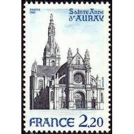 France Yvert Num 2134 ** Anne d'auray  1981