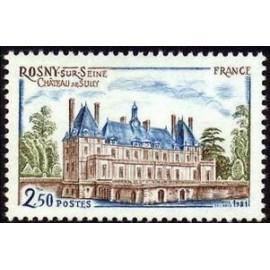 France Yvert Num 2135 ** Château Rosny  1981