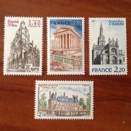 France Yvert Num 2132-2135 **   1981