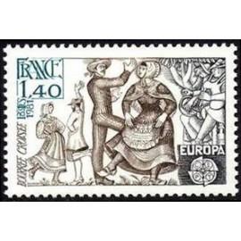 France Yvert Num 2138 ** Europa   1981