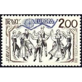 France Yvert Num 2139 ** Europa   1981