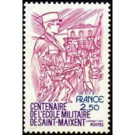 France Yvert Num 2140 ** Saint Maixent  1981