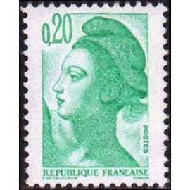 France Yvert Num 2181 ** Liberté 0,2 1982