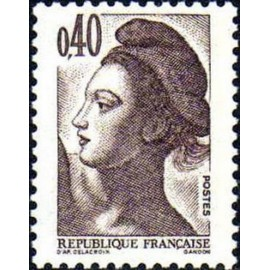 France Yvert Num 2183 ** Liberté 0,4 1982