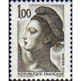 France Yvert Num 2185 ** Liberté 1f00 1982