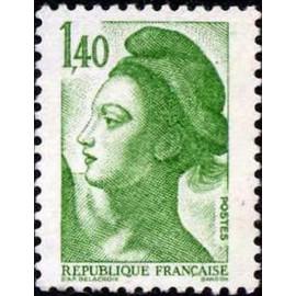 France Yvert Num 2186 ** Liberté 1f40 1982