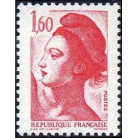 France Yvert Num 2187 ** Liberté 1f60 1982