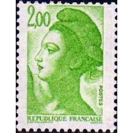 France Yvert Num 2188 ** Liberté 2f00 1982