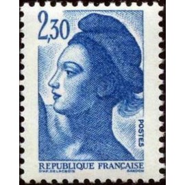 France Yvert Num 2189 ** Liberté 2f30 1982