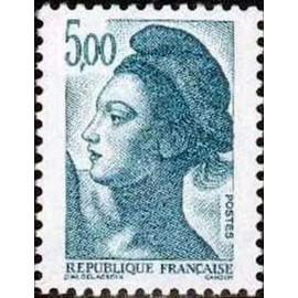 France Yvert Num 2190 ** Liberté 5f00 1982