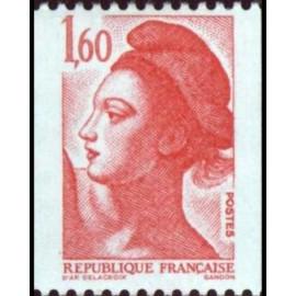 France Yvert Num 2192 **  roulette 1f60 1982