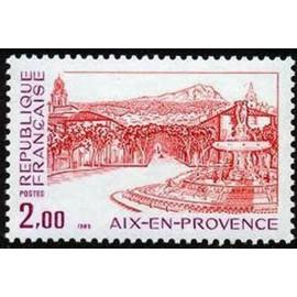 France Yvert Num 2194 ** Aix en Provence  1982