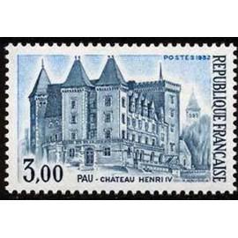 France Yvert Num 2195 ** Pau Château  1982