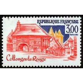 France Yvert Num 2196 ** Collonges  1982
