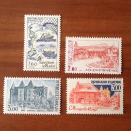 France Yvert Num 2193-2196 **   1982