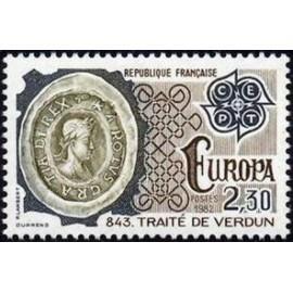 France Yvert Num 2208 ** Europa   1982