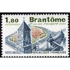 France Yvert Num 2253 ** Château Brantome  1983