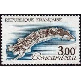 France Yvert Num 2254 ** Concarneau  1983