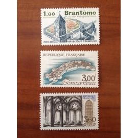 France Yvert Num 2253-2255 **   1983