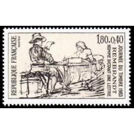 France Yvert Num 2258 ** Rembrandt  1983