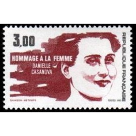 France Yvert Num 2259 ** Femme  1983