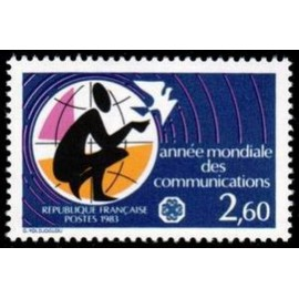 France Yvert Num 2260 ** Communication  1983