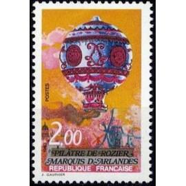 France Yvert Num 2261 ** Ballon  1983