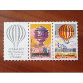 France Yvert Num P2262A ** Ballon Montgolfière  1983