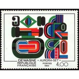 France Yvert Num 2263 ** tableau Dewasne  1983