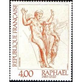 France Yvert Num 2264 ** tableau Raphael  1983