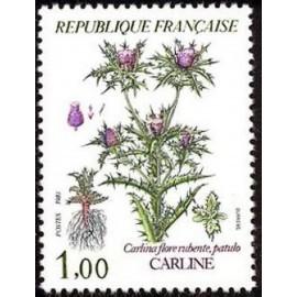 France Yvert Num 2266 ** Fleur flore  1983