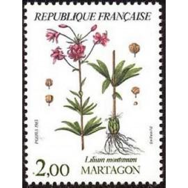 France Yvert Num 2267 ** Fleur flore  1983