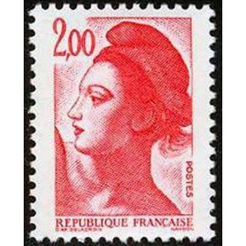 France Yvert Num 2274 ** Liberté 2f00 1983