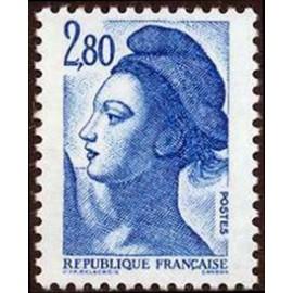 France Yvert Num 2275 ** Liberté 2f80 1983