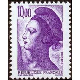 France Yvert Num 2276 ** Liberté 10f00 1983