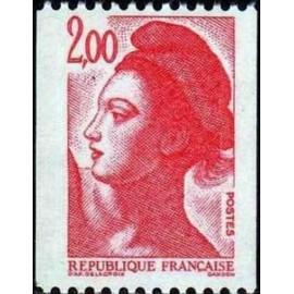 France Yvert Num 2277 ** Roulette 2f00  1983