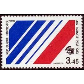 France Yvert Num 2278 ** Air France  1983
