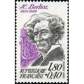 France Yvert Num 2281 ** Hector Berlioz  1983