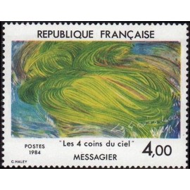 France Yvert Num 2300 ** tableau Messagier  1984