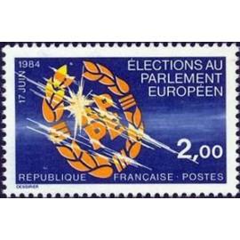 France Yvert Num 2306 ** Europe  1984
