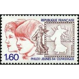 France Yvert Num 2308 ** Semeuse  1984