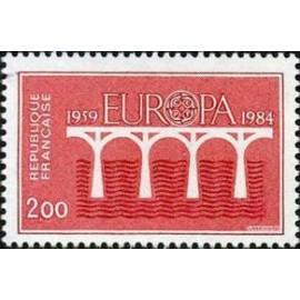 France Yvert Num 2309 ** Europa   1984