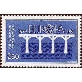 France Yvert Num 2310 ** Europa   1984